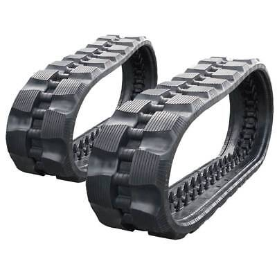 Pair Of Prowler Takeuchi Tl130 Rd Tread Rubber Tracks - 320x86x52 - 13