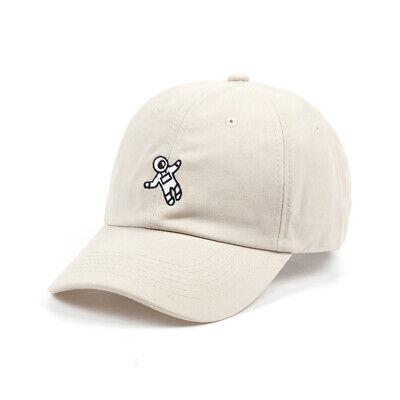 Unisex fashion Hat Astronaut Embroidery Baseball Cap Classy Emoji Colorful Hats