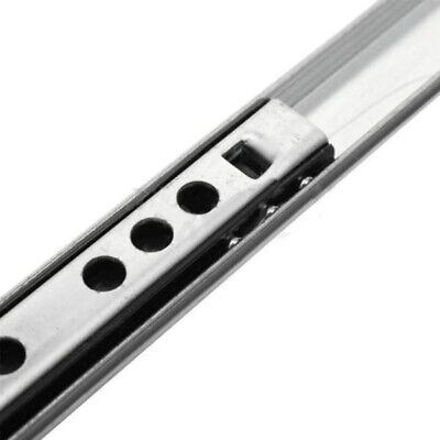 2 X 2 Mounted Slides - 2 X Ball Bearing Drawer Slides Rail Metal 8-16 Inch Full Extension Side Mount