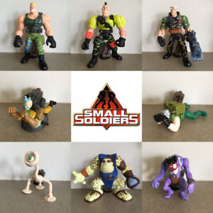 Action Figure Lot of Small Soldiers Kenner Hasbro Movie Toys