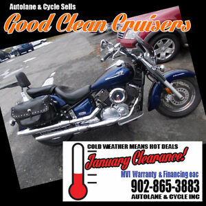 2005 Yamaha V-Star 1100 Classic Sharp bike only $3695
