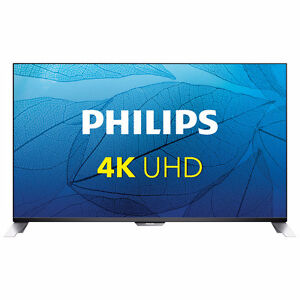 "CLEARANCE sale PHILIPS 55"" 4K UHD SMART tv 120 Hz PMR"