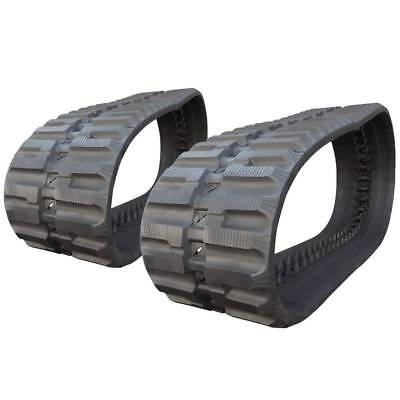 Pair Of Prowler Bobcat T250 C-lug Tread Rubber Tracks - 450x86x55 - 18