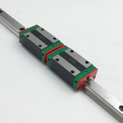 Hiwin 20mm Linear Guide Rail Hgr20 2pc Hgh20ca Rail Block Carriage Cnc Router