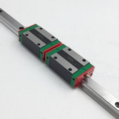 Hiwin 20mm Linear Guide Rail Hgr20 2pc Hgh20ca Rail Block Carriage Cnc Router