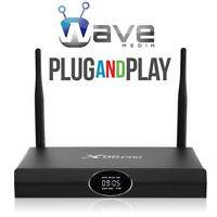 WAVE MEDIA® ANDROID TV BOX *UNLIMITED MOVIES *TV SHOWS *SPORTS *WAVE TV PREMIUM IPTV