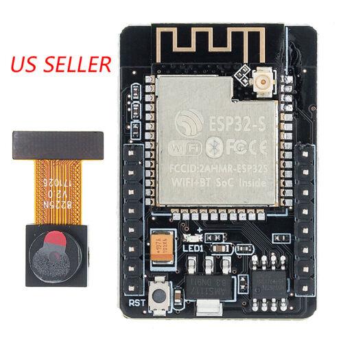 ESP32 CAM WiFi Bluetooth Module Development Board with OV2640 Camera Module