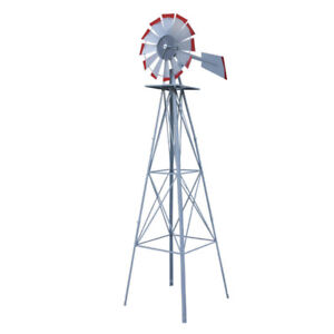 NEW 8 FT TALL GARDEN / YARD WINDMILL ONLY 99.95 !