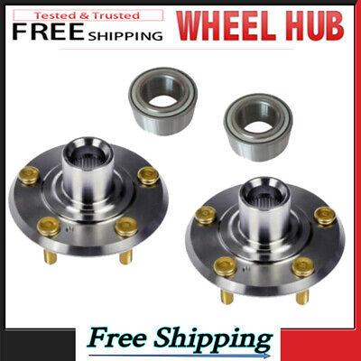Front Wheel Hub&Bearing Assembly for Chrysler PT Cruiser Dodge Neon 02-09 Pair S Neon Front Wheel Hub