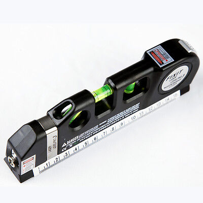 Multipurpose Laser Level Horizon Vertical Measure Tape ...