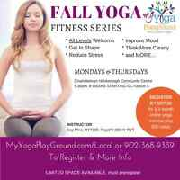 Yoga in Charlottetown This October