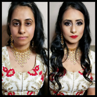 Bridal Makeup 45$ ( Home Service ) 2019 booking accepting