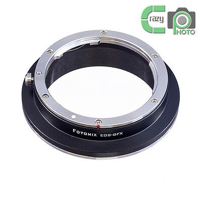 FOTOMIX EOS-GFX Lens Adapter for Canon EF to Fujifilm GFX Medium Format Camera Canon Medium Format