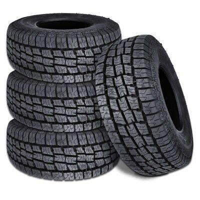 4 New Lionhart Lionclaw ATX2 LT27570R18 125122S All Terrain Tires