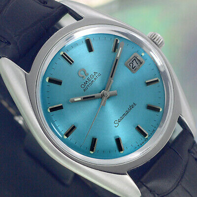 VINTAGE OMEGA Seamaster AUTOMATIC 24 JEWELS CAL.565 DATE ANALOG DRESS MENS WATCH
