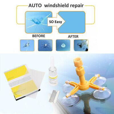 Windscreen Windshield Repair Tool Set DIY Car Kit Wind Glass For Chip Crack Fix