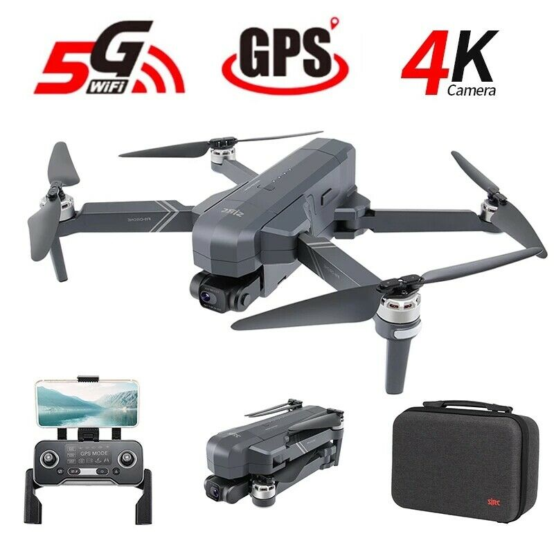 SJRC F11 PRO GPS FPV 5G WiFi RC Drone Quadcopter 4K HD Camera Brushless US