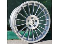 """18"""" Staggered IND652 on tyres for a Golf MK5 MK6 MK7 Jetta Caddy ETC"""