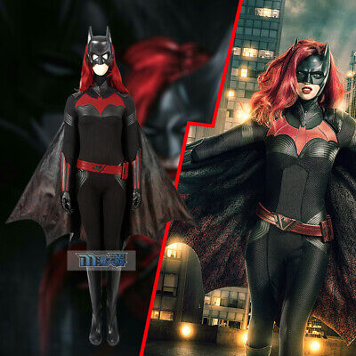 Batwoman Kathy Kane 2019 TV series Episode Cosplay - Bat Woman Outfit