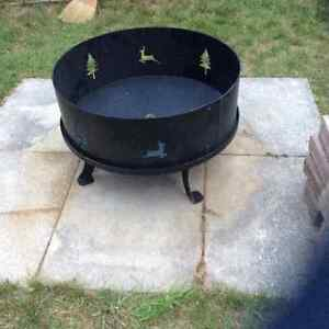 Fire Pit - Large & Iron: New, never used