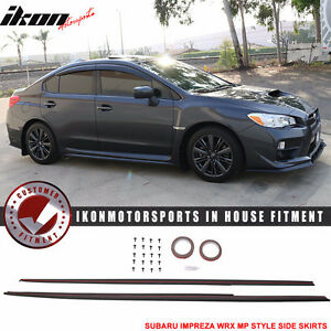 Fit: 2015-2016 Subaru Impreza WRX STI MP Front Bumper Lip ABS
