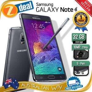 32GB SAMSUNG GALAXY NOTE 4 N910 4G LTE UNLOCKED PHONE BLACK (NEW SEALED BOX)