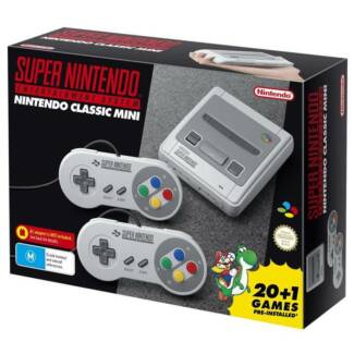 Brand New Mini SNES Classic - Never used Aust Stock from EB games