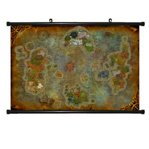 World Of Warcraft Poster Ebay