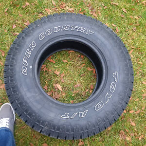 4 Toyo Open Country Tires!