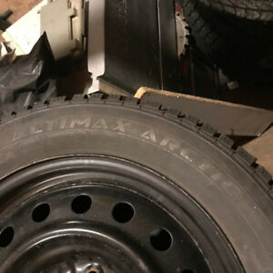 4 205 55 16 Winter Tires Kijiji In Belleville Buy Sell Save