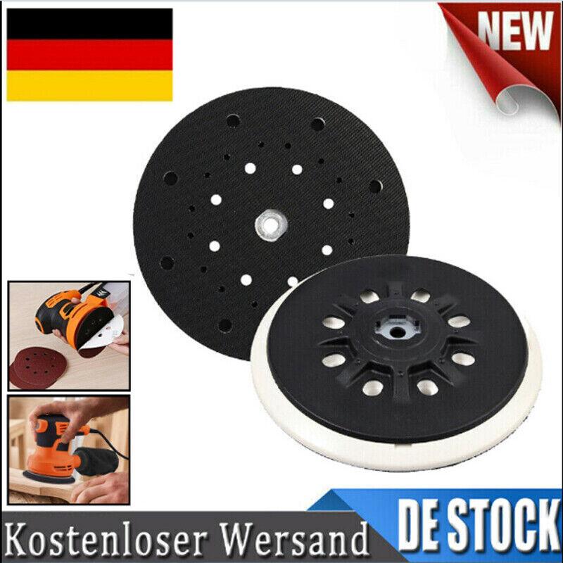 3 St/ücke Makita Schleifteller Klett 125mm Dauerhaft 8 Loch Schleifpads f/ür Makita BO5021K Sander BO5010