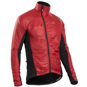Sugoi RSE Alpha Bike, Running Jacket - Men's, Large, Red, New
