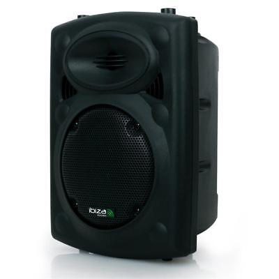 (B-WARE) AKTIV DJ PA LAUTSPRECHER 300W HIFI STEREO SOUND STUDIO BOX USB SD 2x MI gebraucht kaufen  Berlin