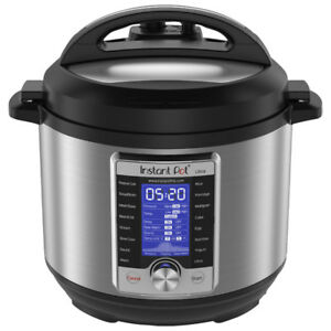 Instant Pot Ultra 10-in-1 Electric Pressure Cooker - 6Qt -NEW