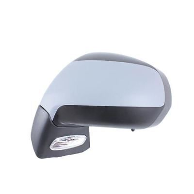 Peugeot 3008 2009  Electric Adjust Wing Door Mirror Primed Cover Passenger Side