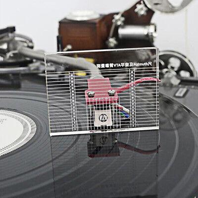 LP Vinyl Record Player Measuring Phono Tonearm VTA/Cartridge Azimuth Ruler Ho TK