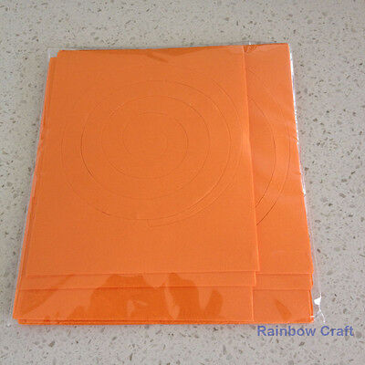 Spiral Quilling Paper - perfect for making flowers 11 Colors (U select) 5 types - Orange