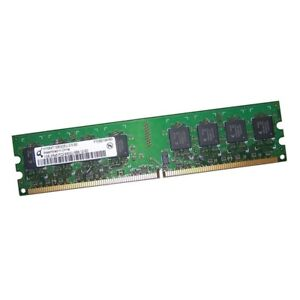 2GB Mémoire Memory Sticks 2x 1GB 2Rx8 PC2-6400U 666 12 EQ