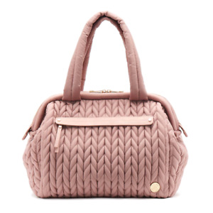 Happbrand diaper bag paige carryall dusty rose