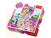My Little Pony toys and Puzzle (Rarity,Twilight Sparkle ), Disney Princess Little Mermaid Ariel Doll