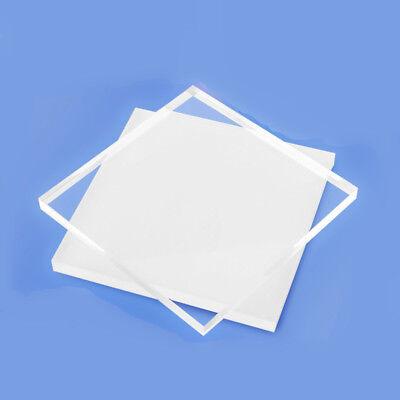5x Clear Transparent Perspex Acrylic Sheet Plastic Plexiglass 2mmx100mmx100mm