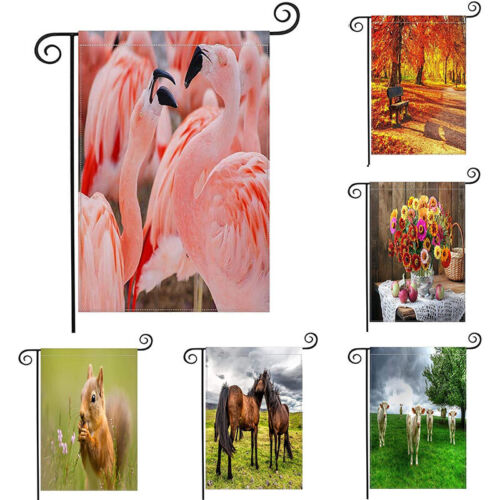 Home Yard Lawn Patio Office Outdoor Decoration Small Banner