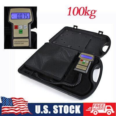 100kg Refrigerant Charging Electronic Scale 9v Dc Digital Refrigeration Weighing