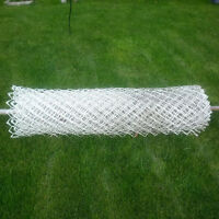 25ft of WHITE Chain Link Fencing (5ft Tall)