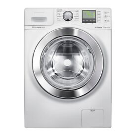 Ex-Lease samsung wf70f5e0w4w ecobubble washing machine +3 Month Warranty