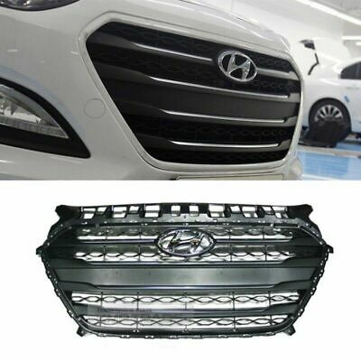 [HYUNDAI] Parts Front Radiator Hood Grille Cover Trim for 2015-2016 Elantra GT