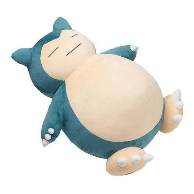 Regalo Jumbo Pokemon Snorlax Plushie 50cm cuscino peluche bambola giocattolo