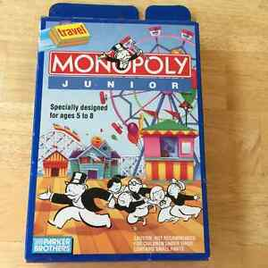 Game - Travel Monopoly Junior