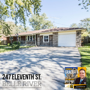 BELLE RIVER HOME FOR SALE