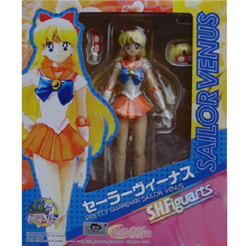 Anime Pretty Guardian Sailor Venus Figuarts Minako Aino Action Figure Model Toys